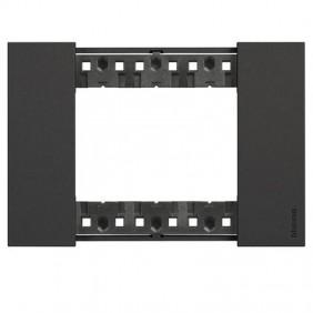 Bticino Living Now 3 Modules color black KA4803KG
