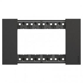 Bticino Living Now 4 Modules color black KA4804KG
