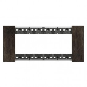 Bticino Living Now 6 Modules color Walnut wood...