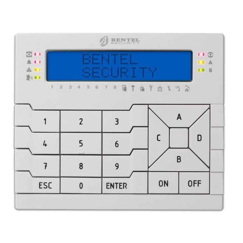 BENTEL TASTIERA PREMIUM LCD CON PROXI PREMIUM LCD