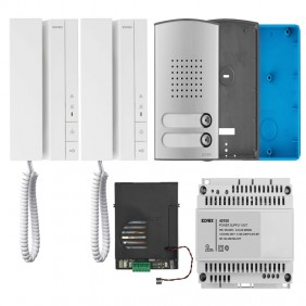 Two-way intercom kit Vimar Elvox Voxie + 2-wire...