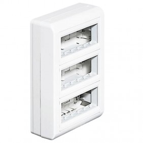 BTICINO pbx multi-function wall 18 forms white...