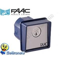 FAAC PULSANTE A CHIAVE T10