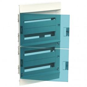 Centralino da incasso ABB 72 moduli IP41 porta...