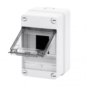 Gewiss external switchboard 4 modules IP55 GW40001