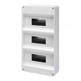 Gewiss external switchboard 36 (12x3) modules +...