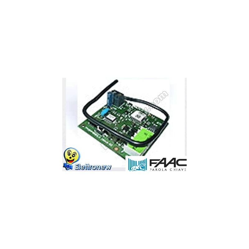 FAAC RICEVENTE A SCHEDA DS 433MHZ 1 CANALE 787705