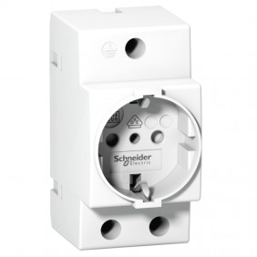 Schneider schuko socket 2X16A 250V 3 modules...