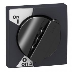 Schneider black rotary knob for IC60 A9A27005