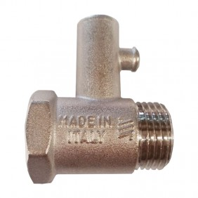 Safety valve for water heaters Tecnogas 70191