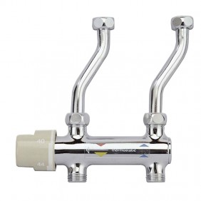 Thermostatic mixer for water heaters River MIX...