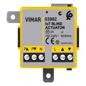 Module de volet roulant Vimar connecté à View...