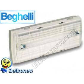 BEGHELLI LAMPADA EMERGENZA DA PARETE 8W 12548