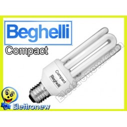 BEGHELLI LAMPADA RISPARMIO ENERGETICO COMPACT 30W E27 2700K