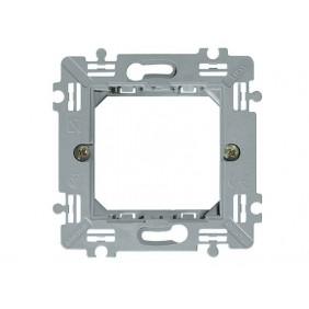 Supporto Bticino Luna 2 moduli per scatola quadrata C4702