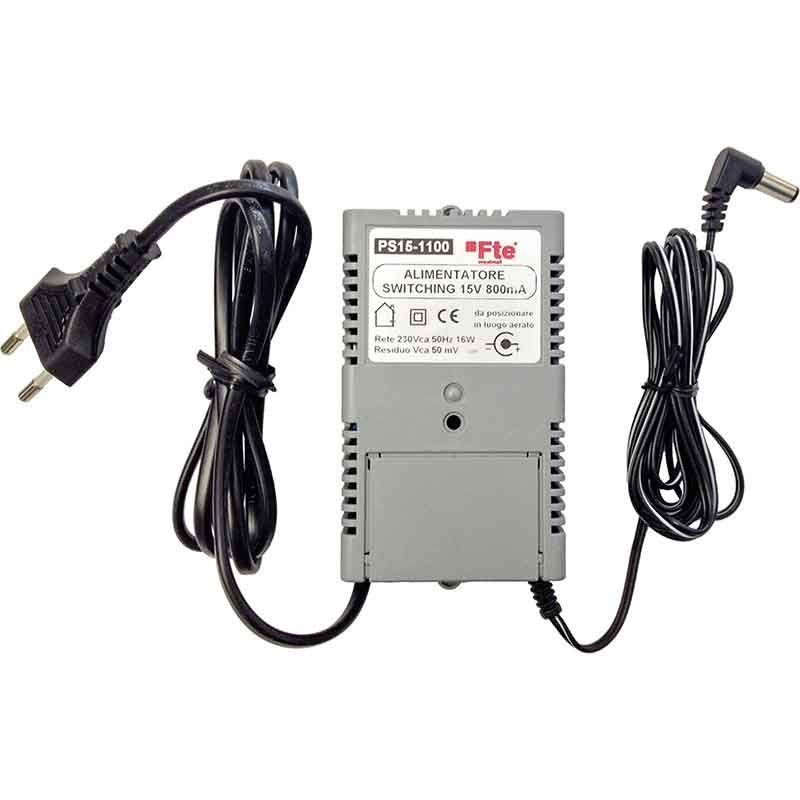 Alimentatore FTE per amplificatore TV 15V 800mA