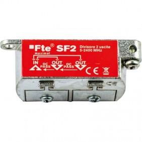 FTE TV divider for digital terrestrial and...