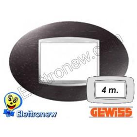 GEWISS CHORUS PLACCA ART 4P GW16304LW