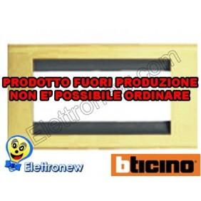 BTICINO LIVING CLASSIC PLACCHE 4 MODULI 4714OR