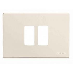 Placa de los Interruptores, Bticino Magic 2 lugares centrado en Resina TIC500/23/R
