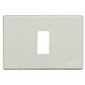 Plate for switches Bticino Magic 1 place oxidal...