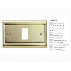 Cornice Master Oro laccato in metallo da completare con inserto 60CML21