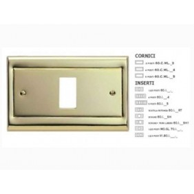 Frame Master Gold lacquered metal complete with insert 60CML21