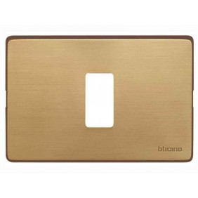 Placca per Interruttori Bticino Magic 1 posto Bronzo TIC503/1/BR