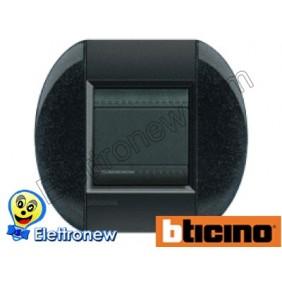 BTICINO LIVINGLIGHT PLACCA TONDA 2 MODULI LNB4802AR