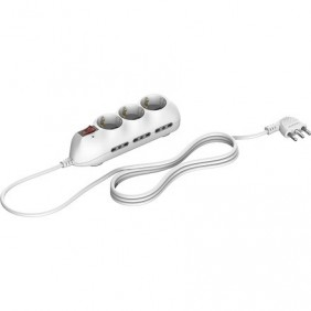 Outlet strip for Bticino Slot 9 took German 6...