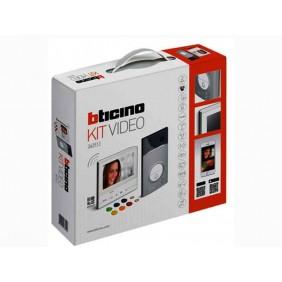Kit Videocitofono Bticino Classe 300X13E WiFi con segreteria e pulsantiera 3000