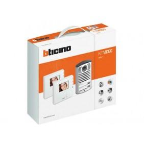 Kit Videocitofono Bticino Bifamiliare 2 Fili Viva Voce Classe 100V12B 365521
