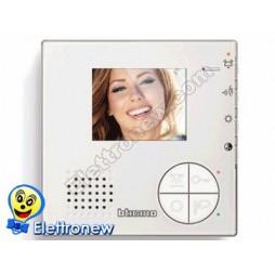 BTICINO Videocitofono 2 FILI vivavoce a colori per installazione da parete o da tavolo  344502