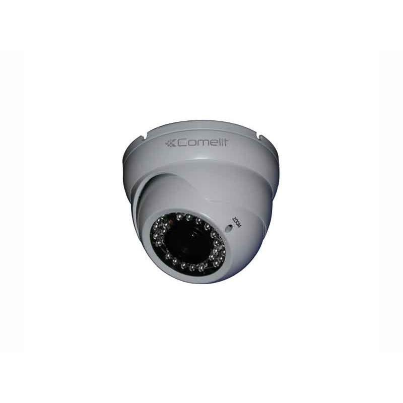 Telecamera Comelit Minidome AHD Full HD 1080PP 2mpx con ottica 2,8-12mm Day&Night