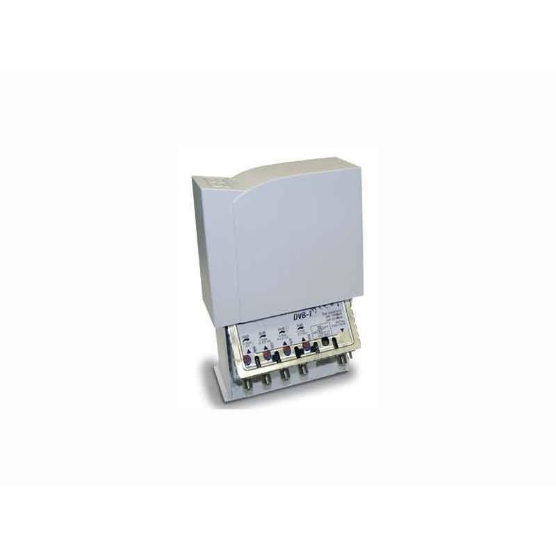 Amplificatore Tv Fracarro 4 ingressi bande III,IV,V,UHF 22dB