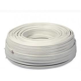 Cable de alarma antirrobo 2X0,22+T+S hank 100mt