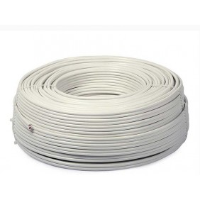 Cable for burglar alarm 2X0,22+T+S hank 100mt