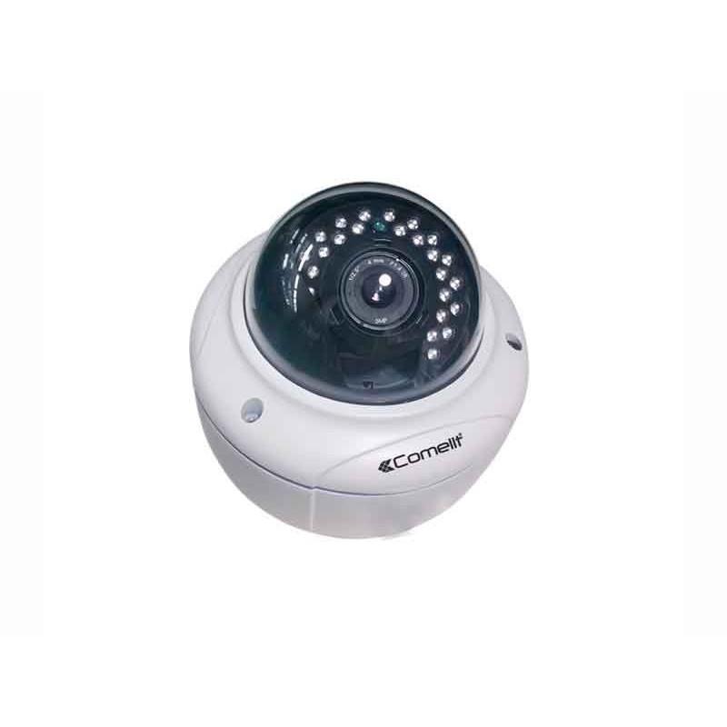 Telecamera IP Minidome Comelit Full HD 1080P con ottica 2,8-12mm Day&Night