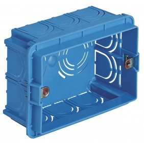VIMAR EIKON BOX, RECESSED, 3 MODULES V71303