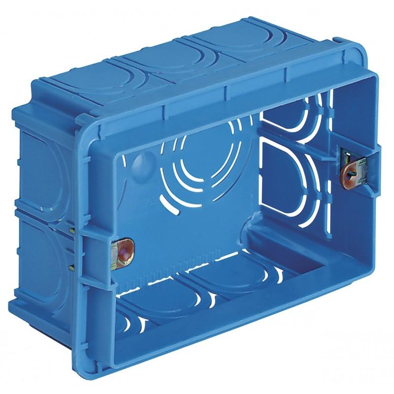VIMAR EIKON BOX, RECESSED, 3 MODULES V71303