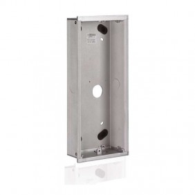Flush-mounted box 3 modules for switches abb...