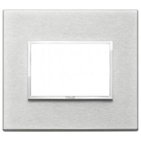 Plate Vimar Eikon Evo 3 modules grey next 21653.02