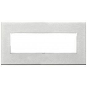 Placca Vimar Eikon Evo 7 moduli grigio next...