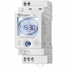 Finder digital time switch NFC 1 contact 12.51.8.230
