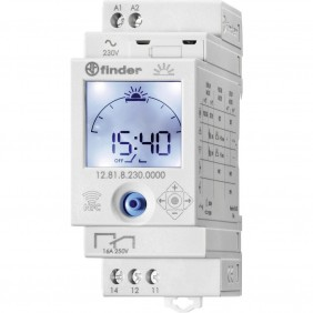 Finder time switch astronomical NFC 1 contact 12.81.8.230