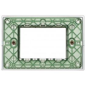 Plate Vimar Plana 3 Modules Reflex air 14653.42