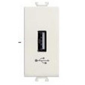 CARICATORE USB ABB CHIARA 500-650MA 5VDC 2CSK1160CH