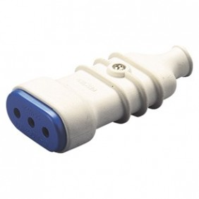 Socket mobile Gewiss 10Apiccola color white GW28203
