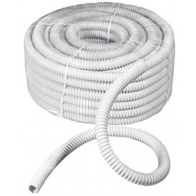 Sheath flexible spiral gray with a diameter of 25