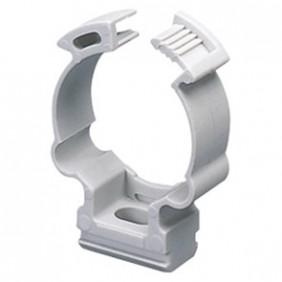 Clips a scatto Gewiss antiurto per tubi 32mm confezione 50pz GW50608